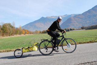 Premier essai vélo électrique